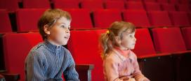 Cinema and children © Pavel Losevsky | Dreamstime.com