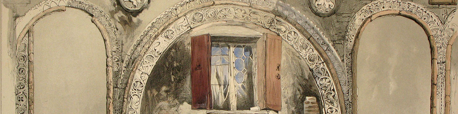 John Ruskin, page from Examples of Architecture