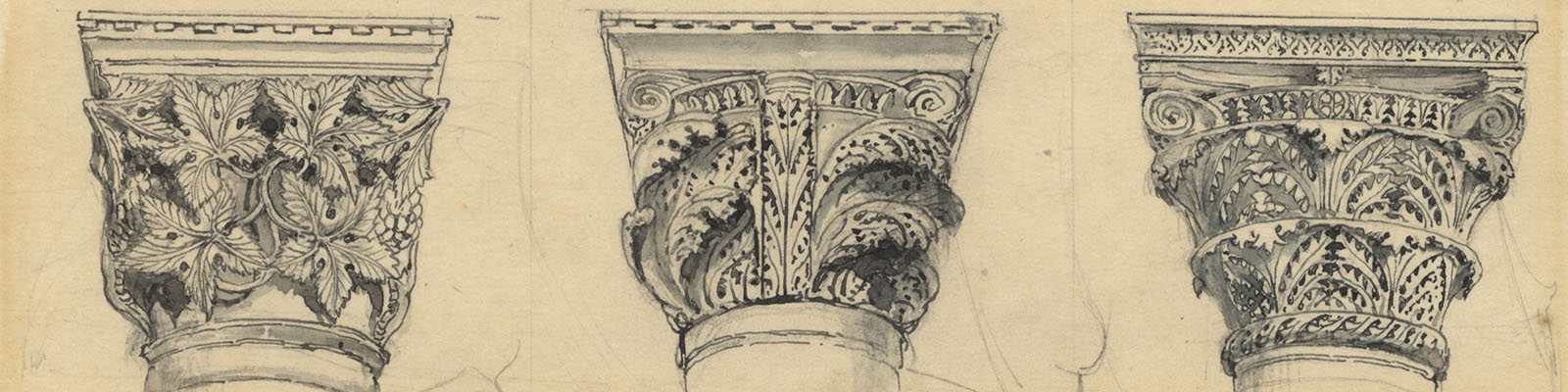 John Ruskin, Byzantine capitals, concave group