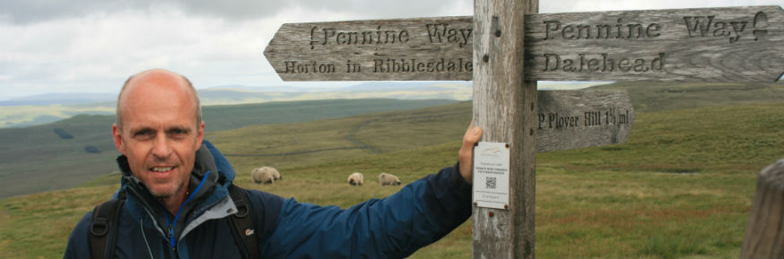 Inspired by the Pennine Way -