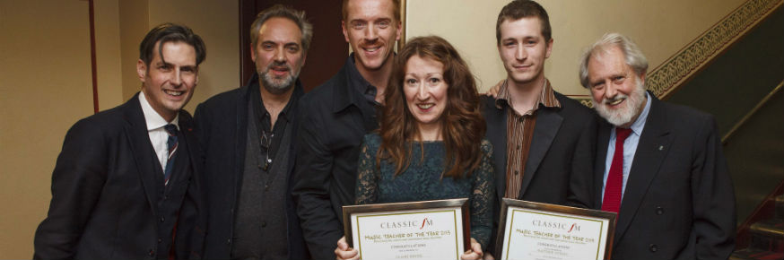 Music Teacher Honoured by Classic FM -