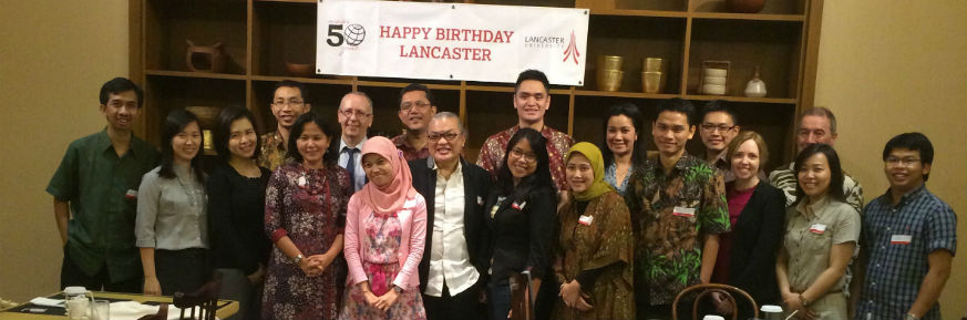 50th Celebrations in Jakarta -