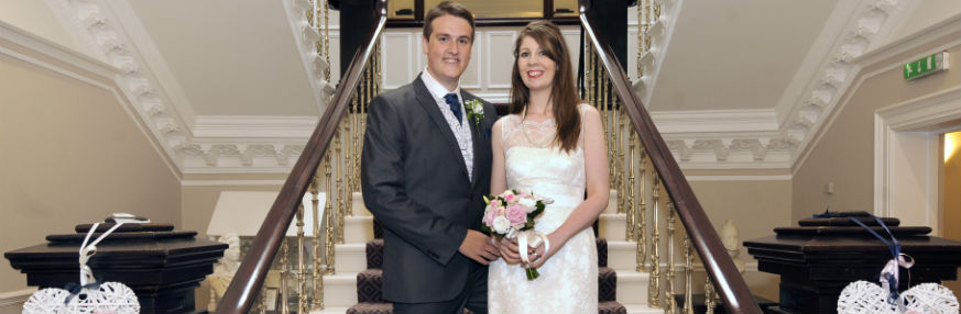 Martyn Duell Marries Helen Linford - Martyn and Helen on their Wedding Day