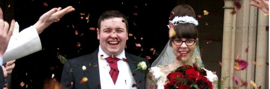 David and Claire married on 31st March 2013
