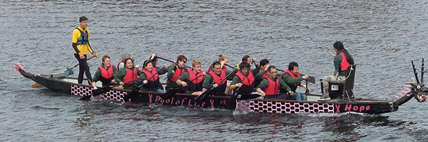 Liverpool Hosts Dragon Boat Race -