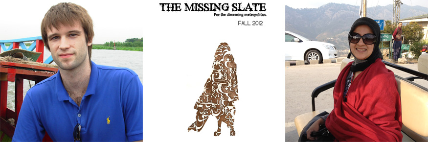 Creative Writers Head Up 'Free Speech' Magazine - The Missing Slate - Jacob and Mayam