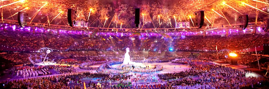 Producing the Paralympics - 60 Seconds with Clare Amsel - 2012 Paralympics Opening Ceremony