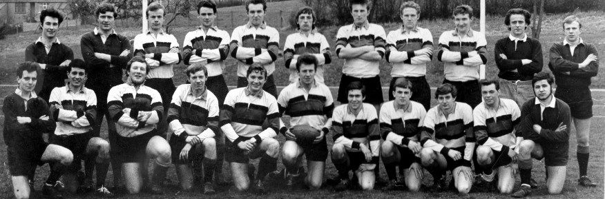 LU First XV Squad - c. 1966 -