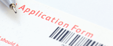 Make an ApplicationPostgraduate application form