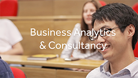 Video: Discover Business Analytics and Consultancy at Lancaster University.