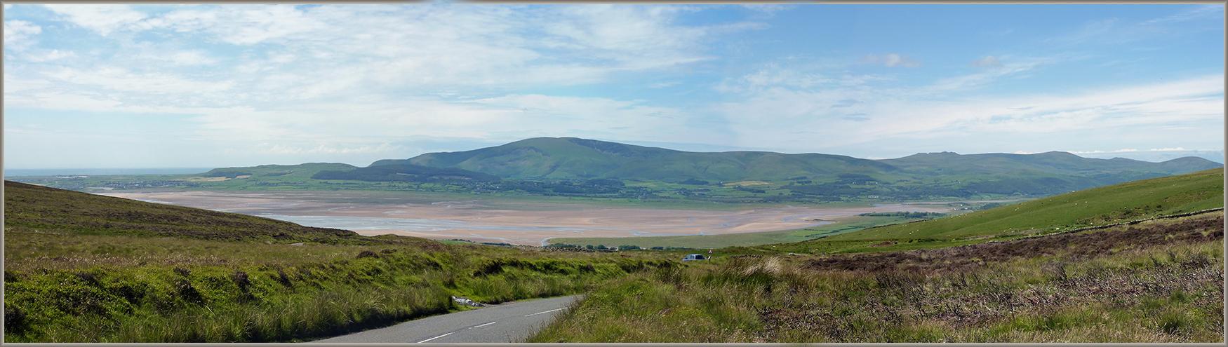 Duddon Sands from Kirkby Fell