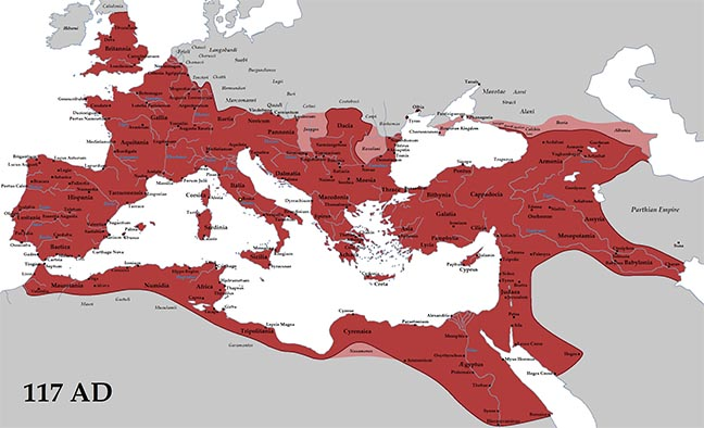 The Roman Empire under Trajan