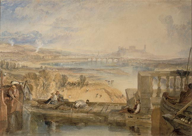 Turner's painting from the Aqueduct Bridge