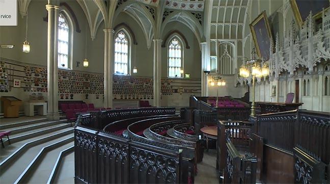 crown court at Lancaster Castle